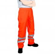Pantalon de pluie haute visibilité orange fluo DMD FRANCE
