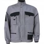 Blouson d'artisan bicolore gris acier et noir SELECT WEAR  - DMD FRANCE