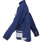 Blouson d'artisan bicolore bleu marine et gris perle SELECT WEAR  - DMD FRANCE