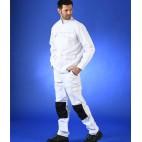 Ensemble blouson et pantalon de peintre New Génération blanc