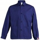 Veste de travail à boutons 100% Coton marine