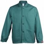 Veste de travail à boutons 100% Coton verte