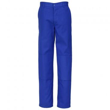 Pantalon bugatti avec poches genouillères en Coton Polyester