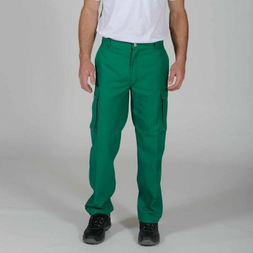 Pantalon Multipoches Coton Polyester - DMD FRANCE