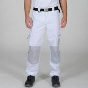 Pantalon de peintre blanc et gris acier SELECT WEAR - DMD FRANCE