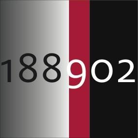 188902_Gris dégradé / noir / rouge